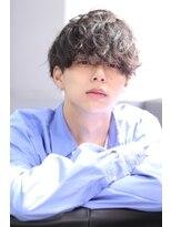 リップスヘアー 銀座(LIPPS hair)ふわくしゃメンノンマッシュ