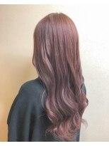 艶髪!ピンクバイオレット!