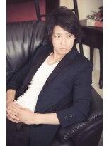 黒髪×パーマ