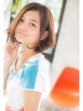 モッズヘア柏(mod's hair kashiwa)エアリーボブ【ANGELE 2013-14 A/W】