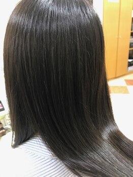 ジュエン ファム(JOUeN femme)の写真/髪の状態に合わせて配合する4つのトリートメントコースで『つい、触りたくなるツヤ髪に…。』