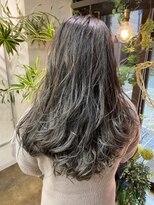 コレット ヘアー 大通(Colette hair)グレーカラーグラデーション