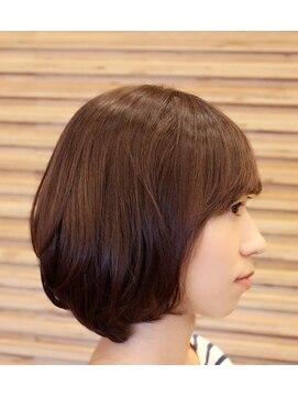 ヘアーメイク ダンス(hair make DANCE)☆ぺたんこ解消ニュアンスパーマ☆