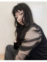 スノウ(SKNOW)黒髪パーマ・yumiko
