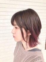 ヘアードットツミキ(HAIR.TSUMIKI)くすみパープル☆グラデーションカラー