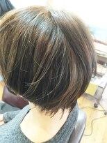 きれい髪美容所グレーベージュで透明感のあるカラー