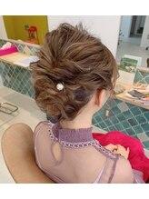 アドラーブル ヘアサロン(Adorable hair salon)結婚式ヘアスタイル