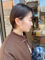 ヘアー アイス ルーチェ(HAIR ICI LUCE)ブリーチ☆ショートボブ&インナーカラー&ショートヘア/担当山中