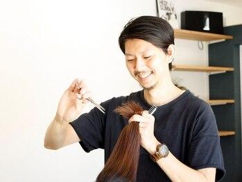 リンドヘアー(Lind hair)の写真/ヘアケアの知識も豊富なオーナースタイリストが一人ひとりのお悩みを解決☆潤い・ツヤのある美髪が叶う―