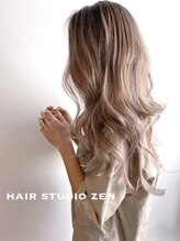 ヘアースタジオゼン アドバンス(hair studio Zen advance)ハイライトMIX
