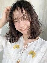 ロッジ 原宿店(RODGE)【nana】ゆるふわウェーブ 地毛風カラー 透明感