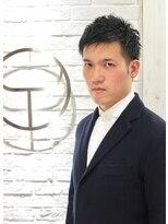 ヨシザワインク プレミアム 築地店(YOSHIZAWA Inc. PREMIUM)【Yoshizawa 馬上】自然ボリュームUP★30代ツーブロックショート