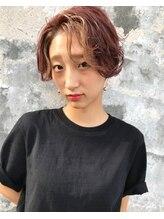 ヘアーメイクデザインパフ(HairMakeDesign Paf)産毛カラーショート