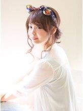 ヘアーブランド リンク 三宮店(HAIR BRAND Link)【Link】スカーフミックス×アレンジ