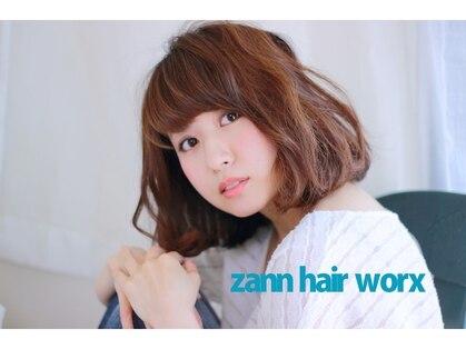 ザンヘアーワークス zann hair worx 画像