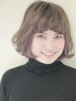 ヒラリヘアー(hirari hair)の写真/hirariオススメは、オシャレに可愛くなれる【極潤カラ-☆】カラ-と一緒に人気の濃密5stepトリ-トメントも!!