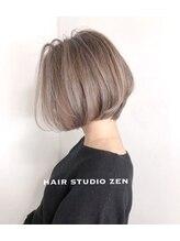 ヘアースタジオゼン アドバンス(hair studio Zen advance)ハイライトショートハイライト