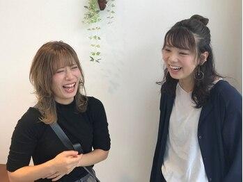 ヘアスタジオ シエル(Hair Studio Ciel)の写真/女性スタイリスト2名在籍☆白を基調とした清潔感のある店内♪スタッフ一同、笑顔でお出迎えいたします♪