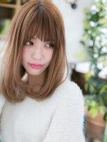 カバーヘア ブリス 北浦和西口店(COVER HAIR bliss)*bliss北浦和*3Dカラー&斜めバングで♪しっとりワンカールa