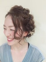 ニコ ヘアーアンドメイク(nico hair&make)nico 四編みサマーアレンジ
