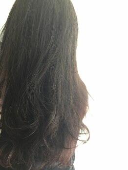 リリック(LYRIC)の写真/【一宮市】頭皮の状態を良くすることでヘアデザインの幅が広がる♪結果重視の厳選トリートメントをご用意!