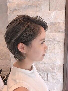 グランツヘアデザイン 四谷(GRANZ hair design)エフォートレスボブ×外国人風グラデカラー