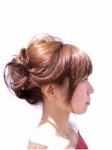 ヘアーアンドリラクゼーション 結(HAIR&RELAXATION)アップスタイル