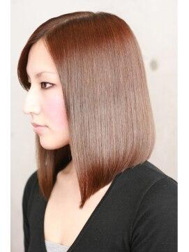 ヘアーラボ ノッシュ 唐人町店(Hair Labo Nosh)シャイニーストレートボブ