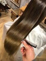 ナナナパレナ 心斎橋店(nanana parena)圧倒的な艶!縮毛矯正で髪質改善艶髪ストレート♪