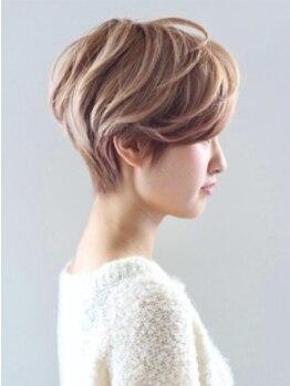 モッズ ヘア 海浜幕張店(mod's hair)の写真/前髪や輪郭のバランスを重視★可愛い、清楚、キレイ…なりたいイメージに似合わせるカットに定評あり♪