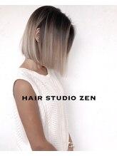 ヘアースタジオゼン アドバンス(hair studio Zen advance)外国人風グラデーションMIX