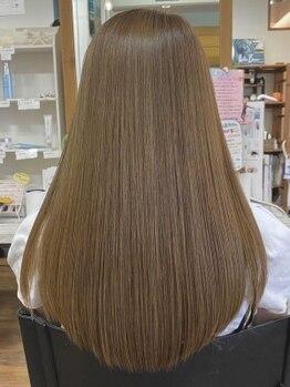 フレア・イデア(flare-想-)の写真/【西明石駅/駐車場完備】パサつき・乾燥・ダメージのお悩みを解決に導く◎髪質改善しうるツヤ髪へ―