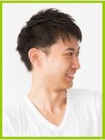メンズパーマ・髪質改善・トップにボリュームと動きを!