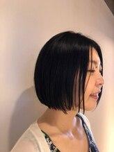 コモン ヘア デザイン(COMMON hair design)ワンレングスボブ