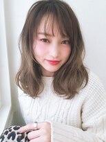 《Agu hair》アンニュイ色っぽミディ