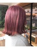ヘア プロデュース キュオン(hair produce CUEON.)pink beige × medium