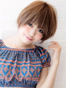 アグヘアー マーク 酒田下安店(Agu hair marc)《Agu hair》王道かわいい小顔ショート