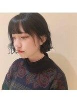 ネオヘアー 曳舟店(NEO Hair)切りっぱなしミニボブ(曳舟)