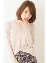 ユキオグループグラン(YUKIO GROUP GRAN)30代☆斜めバング☆上品小顔ボブ