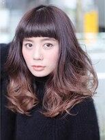 ブルームヘア 大宮(Bloom hair)シャープなグラデーションカール