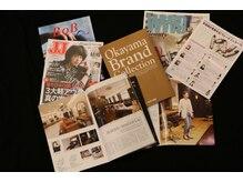 有名ファッション誌「JJ」や業界誌に多数掲載!!多くの大人女性から支持の大人気サロン☆