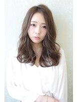 ハピネス 心斎橋(HAPPINESS)外ハネボブアッシュブラウンネオウルフ毛先パーマ30代40代50代