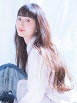 パッツンロングウェーブ♪arc by neolive 荻窪