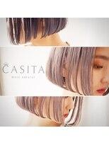 カシータ(CASITA)スタンダード切りっぱなしボブ