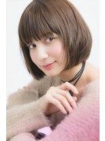 ミンクス 銀座店(MINX)【MINX山本】360度どこから見てもキレイ!ほんのり色っぽボブ