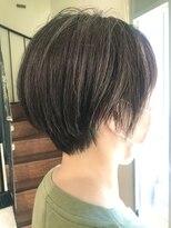 ヘアーヒーリングウィッシュ(Hair Healing Wish)スリークボブ 大人ショート ハイライトカラー [調布/国領]