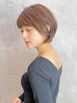 ベック ヘアサロン(BEKKU hair salon)大人かわいい☆丸みショート