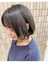 ヘアアンドメイクグラチア(HAIR and MAKE GRATIAE)ミニボブ♪アッシュグレージュ