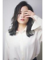 ヘアリゾート リアン(hair resort Lien)セミロング×ダークアッシュ ☆Lien☆ 倉田
