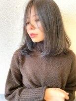 ジル ヘアデザイン ナンバ(JILL Hair Design NAMBA)JILL/ナチュラルストレート/ロブ